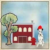 Dalmation Firehouse
