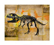 T Rex Skeleton Collage