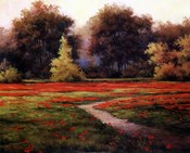 Autumn Poppies I
