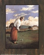 Victorian Golfer - Woman