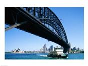 Low angle view of a bridge, Sydney Harbor Bridge, Sydney, Australia
