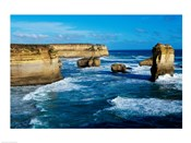 Rock formations on the coast, Port Campbell National Park, Victoria, Australia