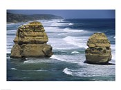 Sea stacks at the Port Campbell National Park, Victoria, Australia