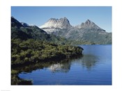 Dove Lake at Cradle Mtn. Tasmania Australia