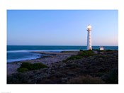 Lighthouse on the coast, Point Lowly Lighthouse, Whyalla, Australia