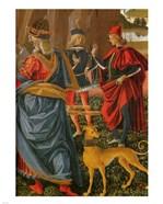 Saint Bernardino saves a dead man Pintoricchio