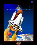 STS 123 Mission Poster