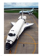 Atlantis STS117 Towed