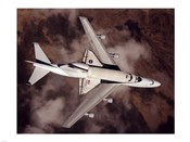 B747 with Space Shuttle on it from Above