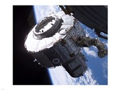 ISS Quest Module Instalation of International Space Station