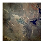 Las Vegas from space as taken by shuttle atlantis