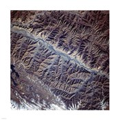 Mountain Range from Space
