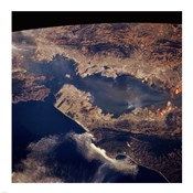 San Francisco taken from space by shuttle columbia
