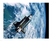 Shuttle Discovery in Space