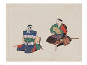 Seated Samurai Warriors