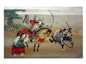 Illustrated Story of Night Attack on Yoshitsune's Residence At Horikawa, 16th Century