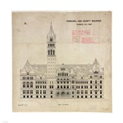 Municipal and County Buildings Toronto July 1887