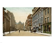 Postcard of Toronto street and post office, Toronto, Canada