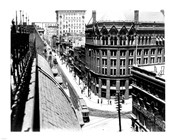 Yonge Street, looking North from Customs House