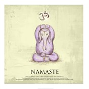 Elephant Yoga, Namaste Pose