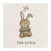 Bunny Yoga, The Lotus Pose