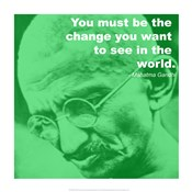 Gandhi - Change Quote