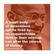 Gandhi - Determination Quote