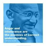 Gandhi - Intolerance Quote