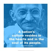 Gandhi - Nations Quote