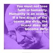 Gandhi - Ocean Quote