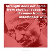 Gandhi - Strength Quote