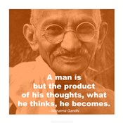 Gandhi - Thoughts Quote