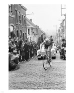 Jaap Kersten in Geraardsbergen Tour de france 1961
