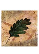 Antiqued Leaves II