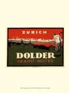Vintage Travel Label VIII
