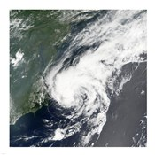 Tropical Storm Beryl formed in the Northwestern Atlantic on July 18, 2006