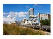 Boardwalk Stores, Atlantic City, New Jersey, USA