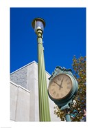 Clock on Atlantic Avenue, Atlantic City, New Jersey, USA