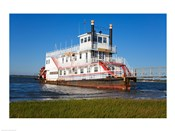 Paddle Steamer on Lakes Bay, Atlantic City, New Jersey, USA