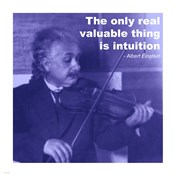 Einstein Intuition Quote