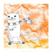 Skateboarding Cat II