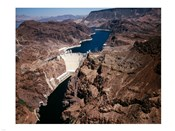 Above Hoover Dam near Boulder City, Nevada