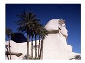 Dramatic Sphynx at the Luxor Hotel Casino in Las Vegas Excalibur Hotel Turets, Las Vegas, Nevada