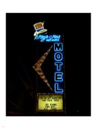 High Hat historic motel, Las Vegas, Nevada