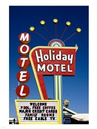 Holiday Motel Sign, Las Vegas, Nevada