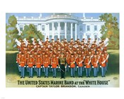 Marine Band at the White house