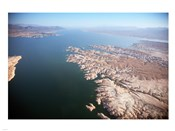 Aerial view, Lake Mead near Las Vegas, Nevada and the Grand Canyon