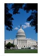 Facade of the Capitol Building, Washington, D.C., USA