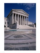 Facade of the U.S. Supreme Court, Washington, D.C., USA Vertical
