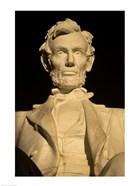 Close-up of the Lincoln Memorial, Washington, D.C., USA